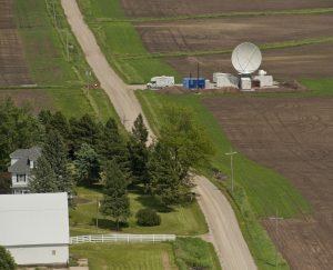 NASA deployed a large radar near Waterloo as part of IFloodS