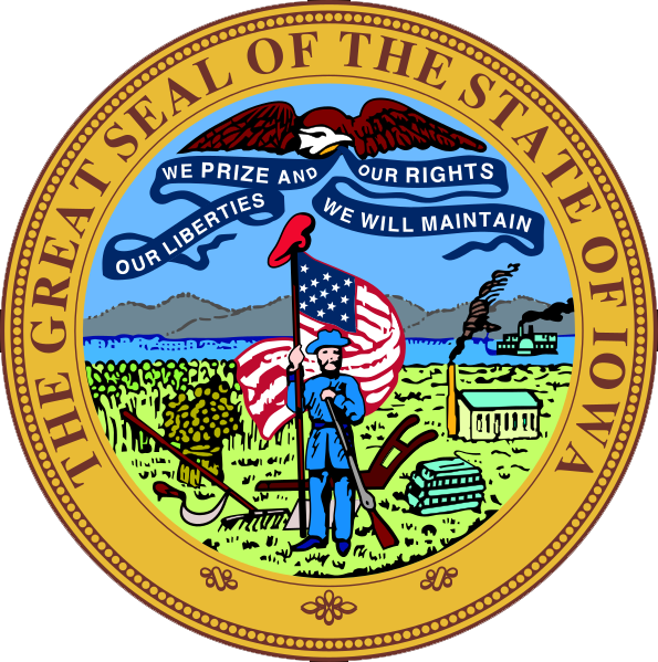 State of Iowa seal