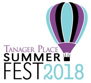Logo of Tanager Place Summer Fest 2018