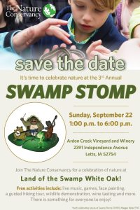 Swamp Stomp save the date