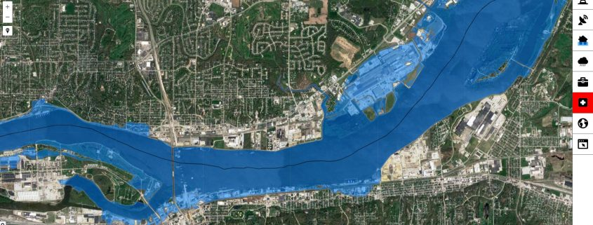 Mississippi River Flood Maps