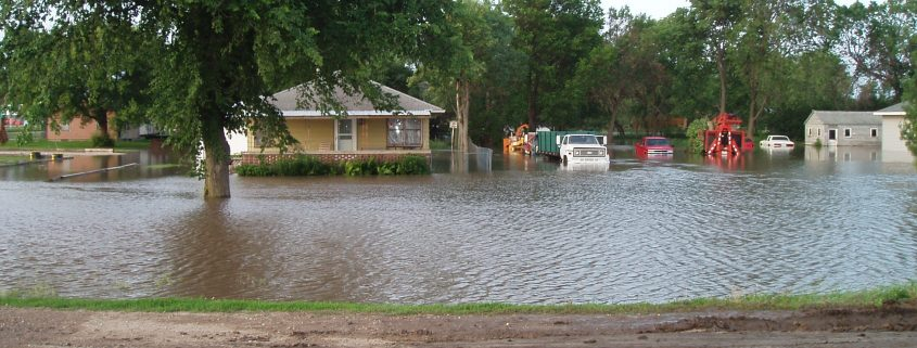 Akron Flooded Home